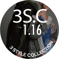 0116 3S.C【3 STYLES COLLECTION】