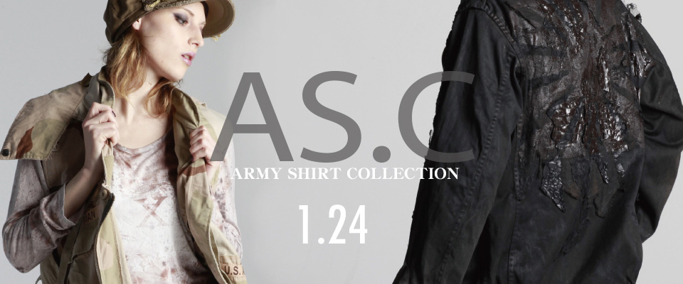 0124 AS.C【ARMY Shirt Collection】