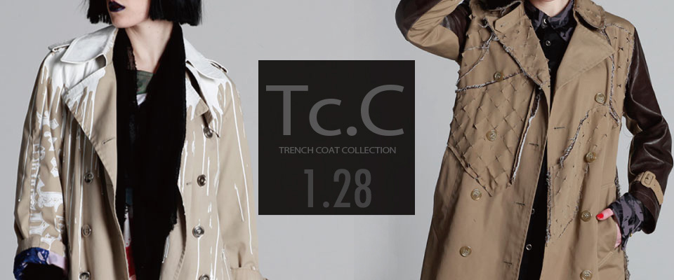 0128 Tc.C【Trench coat COLLECTION】