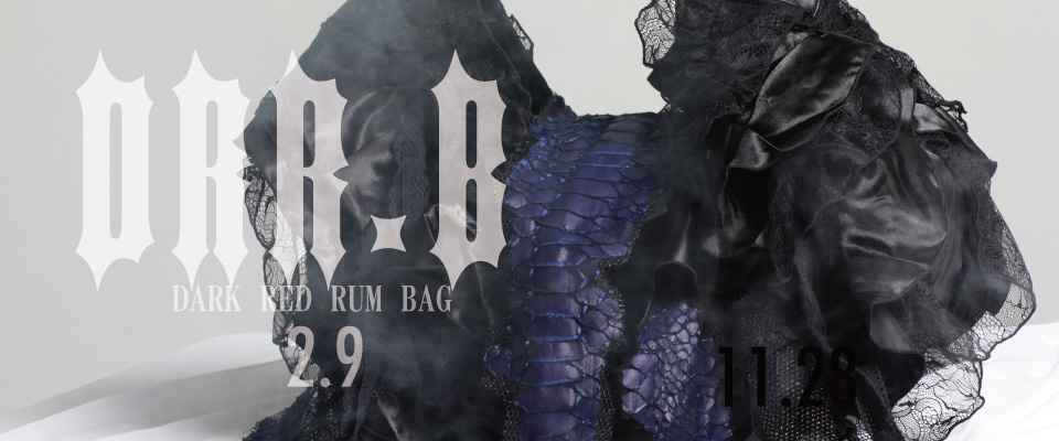 0209 DRR.B【DARK RED RUM BAG】