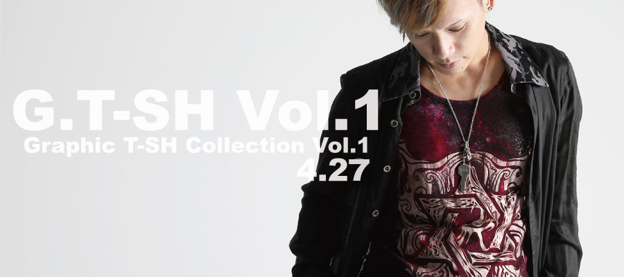 0427 G.T-SH Vol.1【graphic T-SH Collection Vol.1】