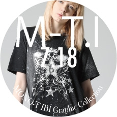 0718 M-T.I【MONO-T・IBI Graphic Collection】