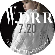 0720 W-D.R.R【White  DARK RED RUM Collection】