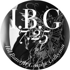 0725 I.B.G【IBI Butterfly Graphic Collection】