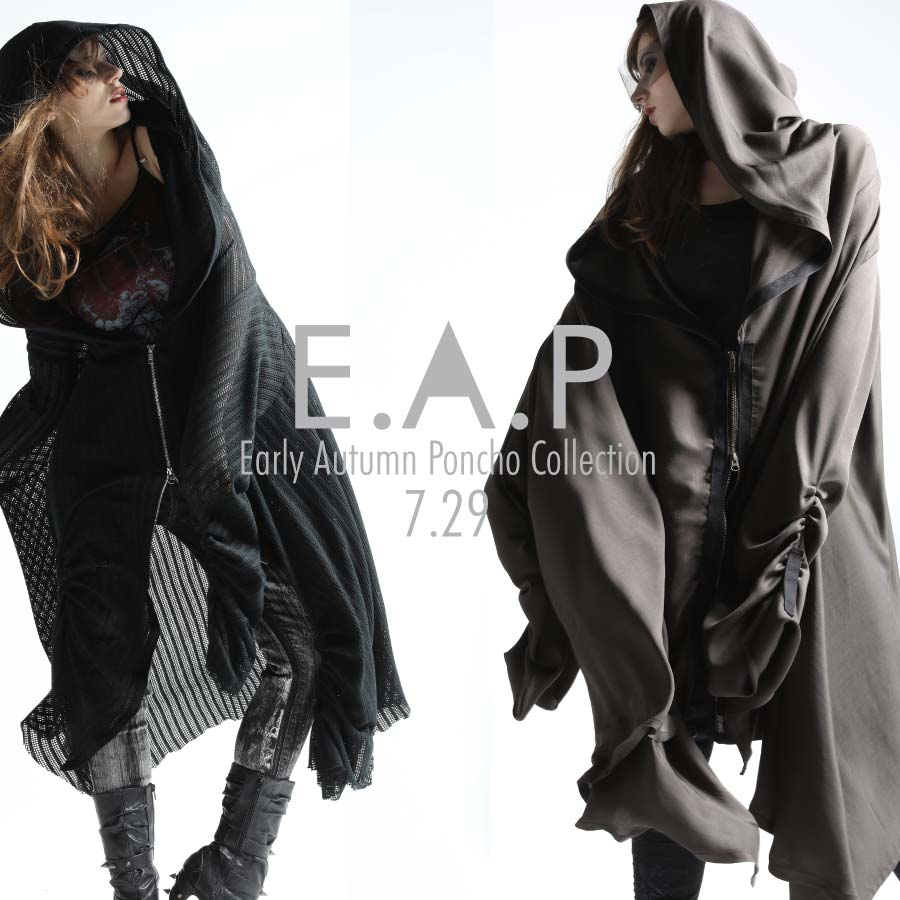 0729 E.A.P.C【Early Autumn Poncho Collection 】