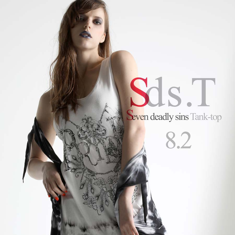 0802 Sds.T【Seven deadly sins Tank-top】