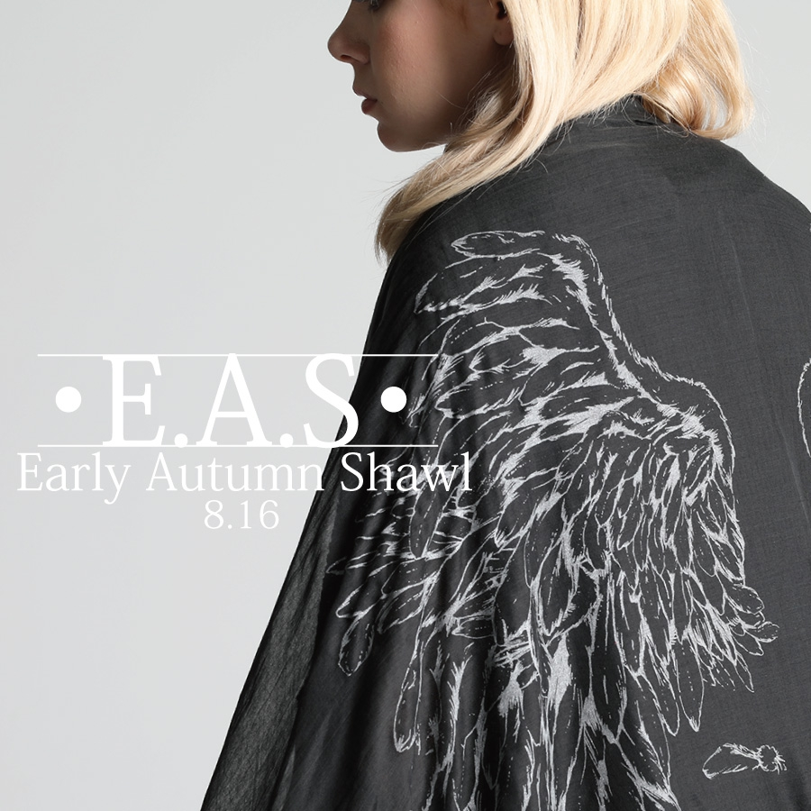 0816 E.A.S【Early Autumn Shawl】
