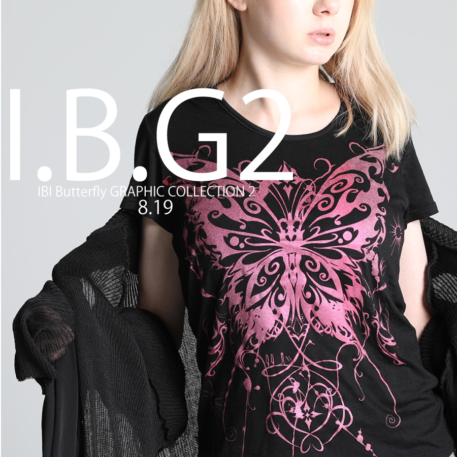 0819 I.B.G2【 IBI BUTTERFLY GRAPHIC COLLECTION】