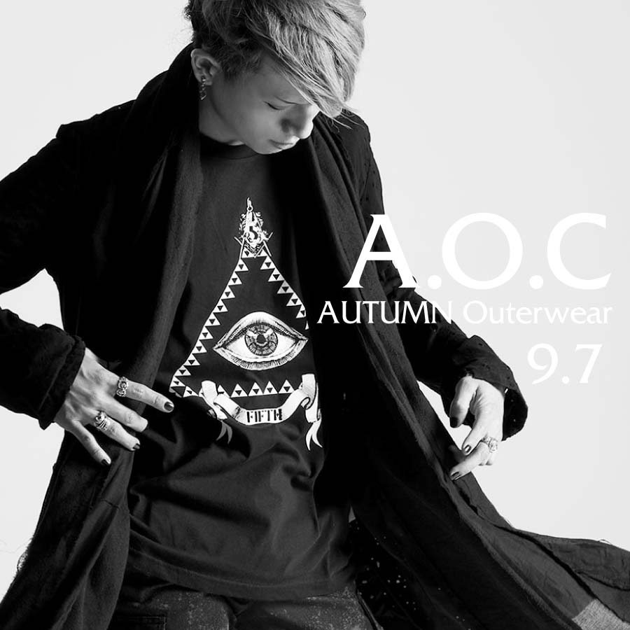 0907A.O.C【AUTUMN Outerwear Collection】