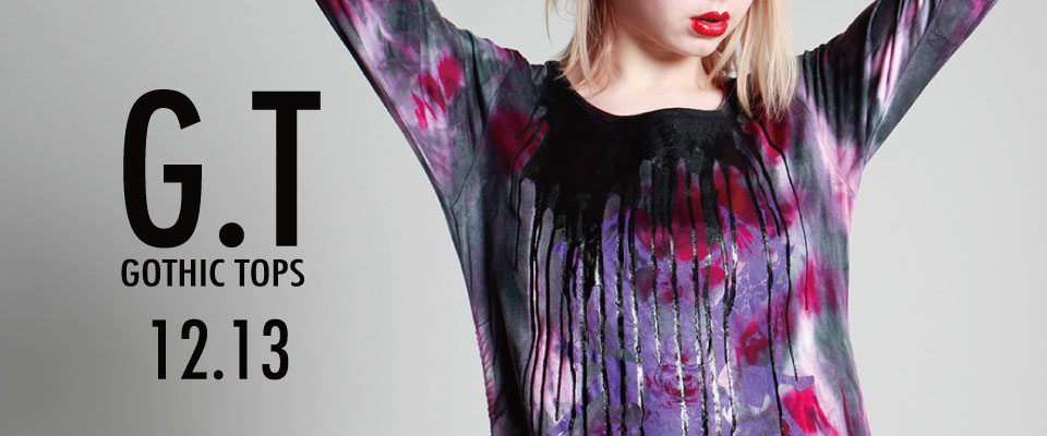 1213 G.T【GOTHIC TOPS】
