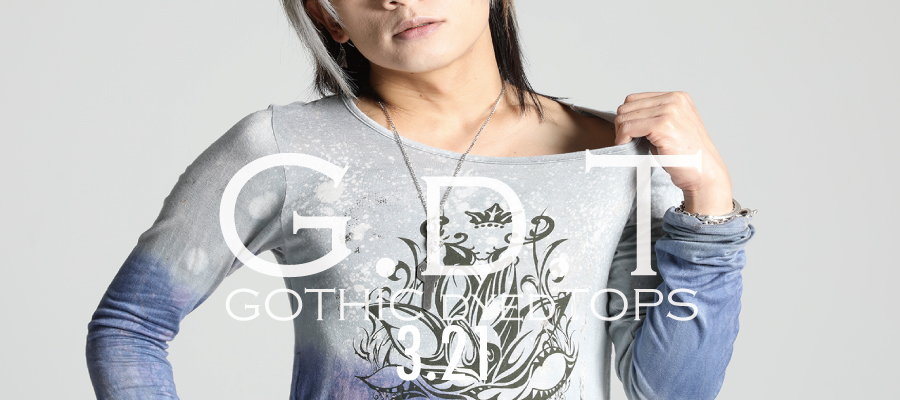 0321 G.d.T【GOTHIC dyed TOPS】