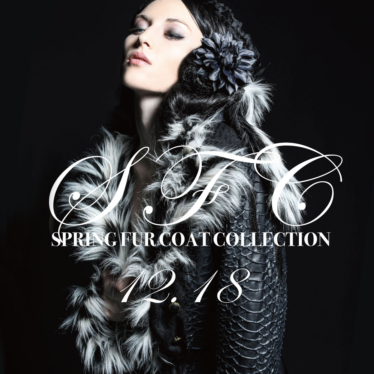 1218 SFC【SPRING FUR COAT COLLECTION】