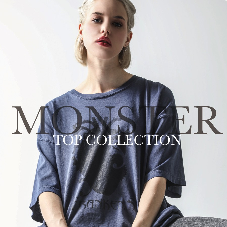 0421【Monster T-shirt COLLECTION】