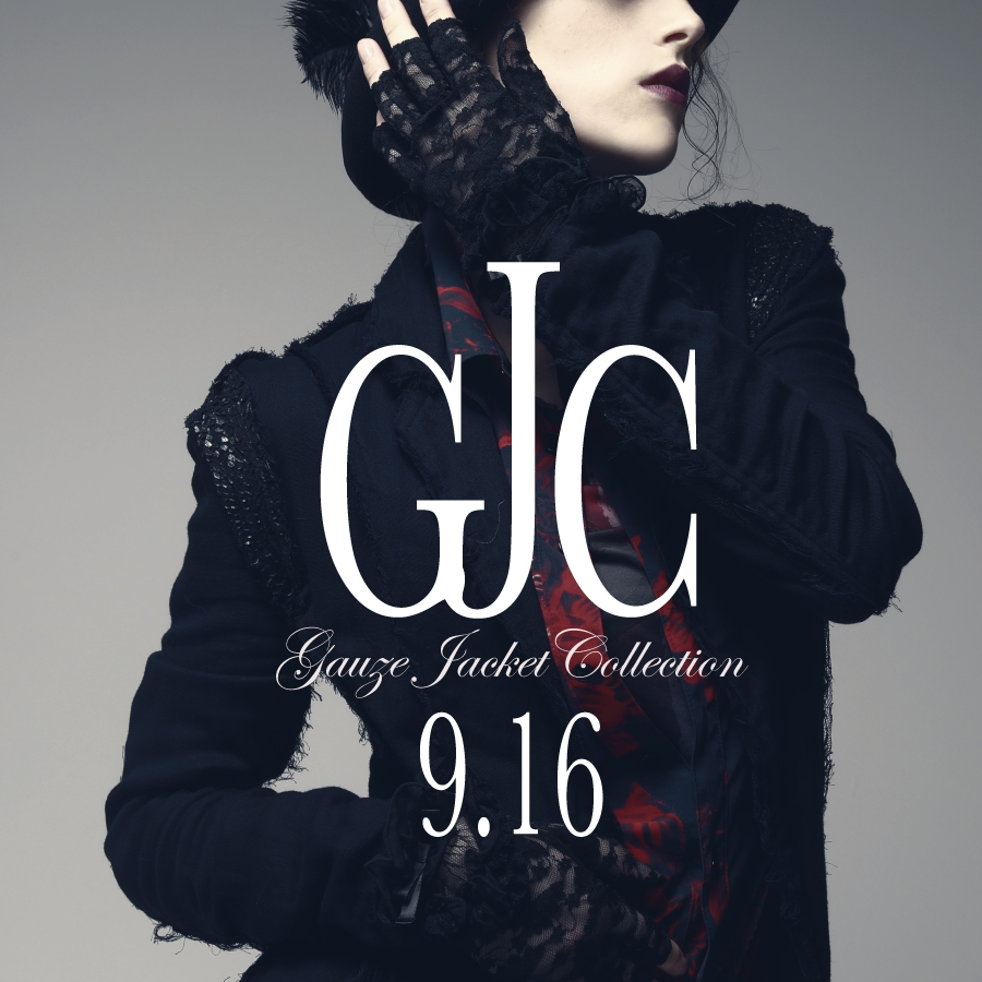 0916 G.J.C【Gauze JACKET Collection】