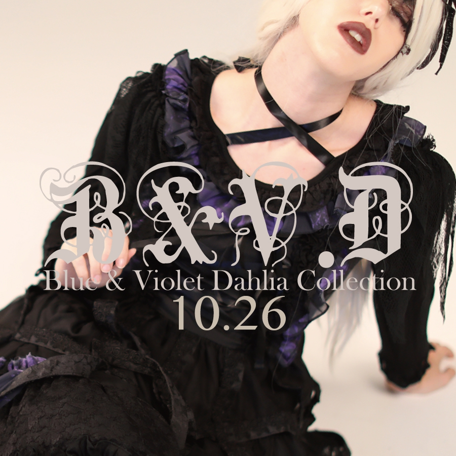 1026 B&V.D【Blue&Violet Dahlia Collection】
