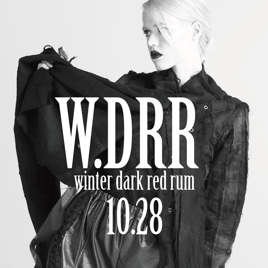 1028 W.DRR【Winter DARK RED RUM】