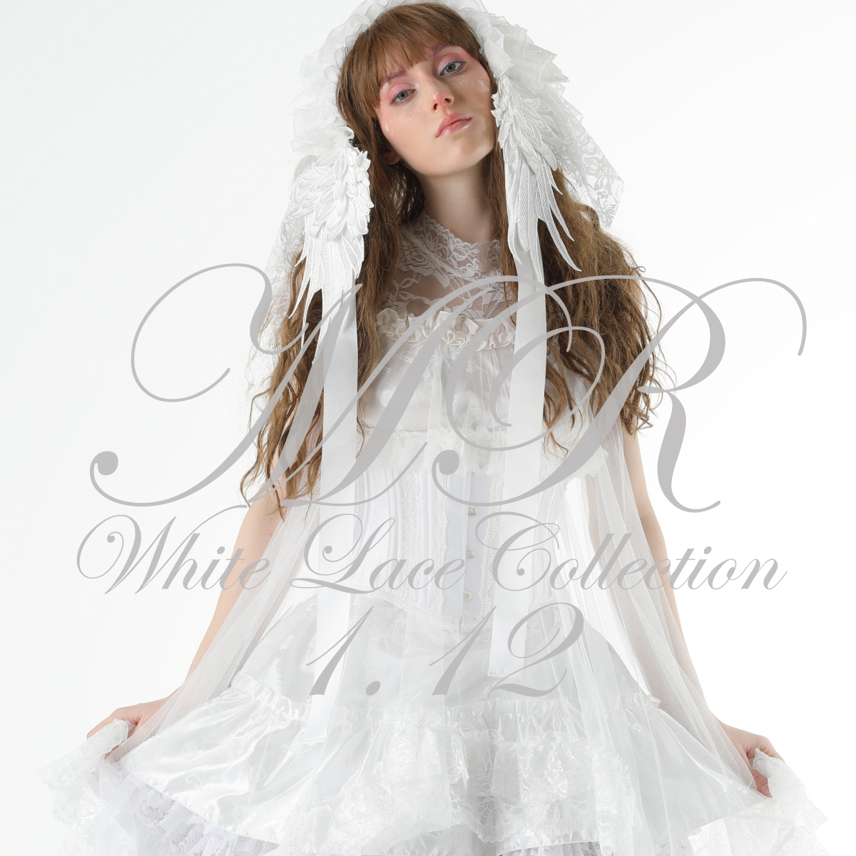 0112 White Lace Collection