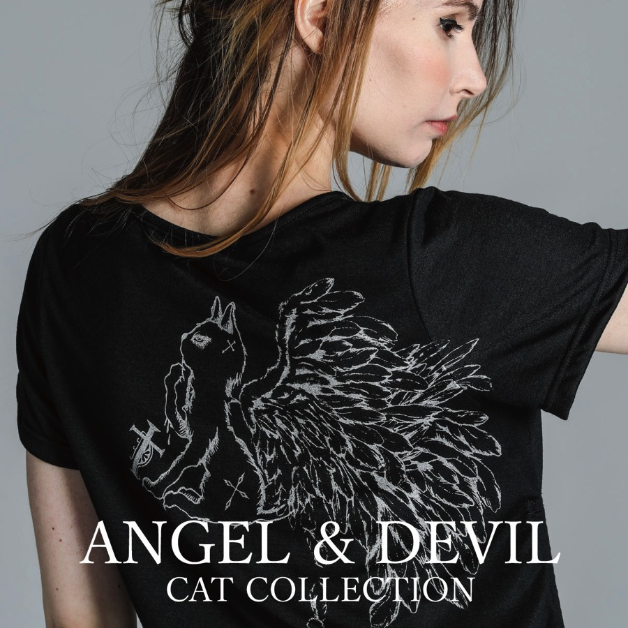 0808 ANGEL AND DEVIL CAT COLLECTION