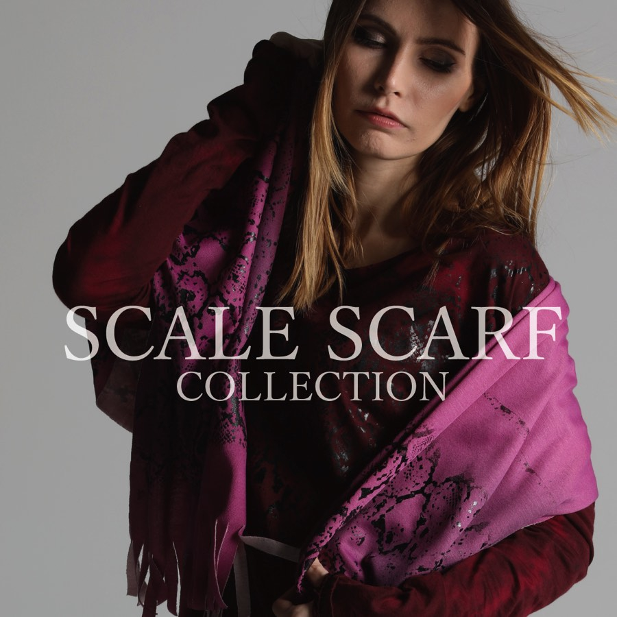 0918 SCALE SCARF COLLECTION