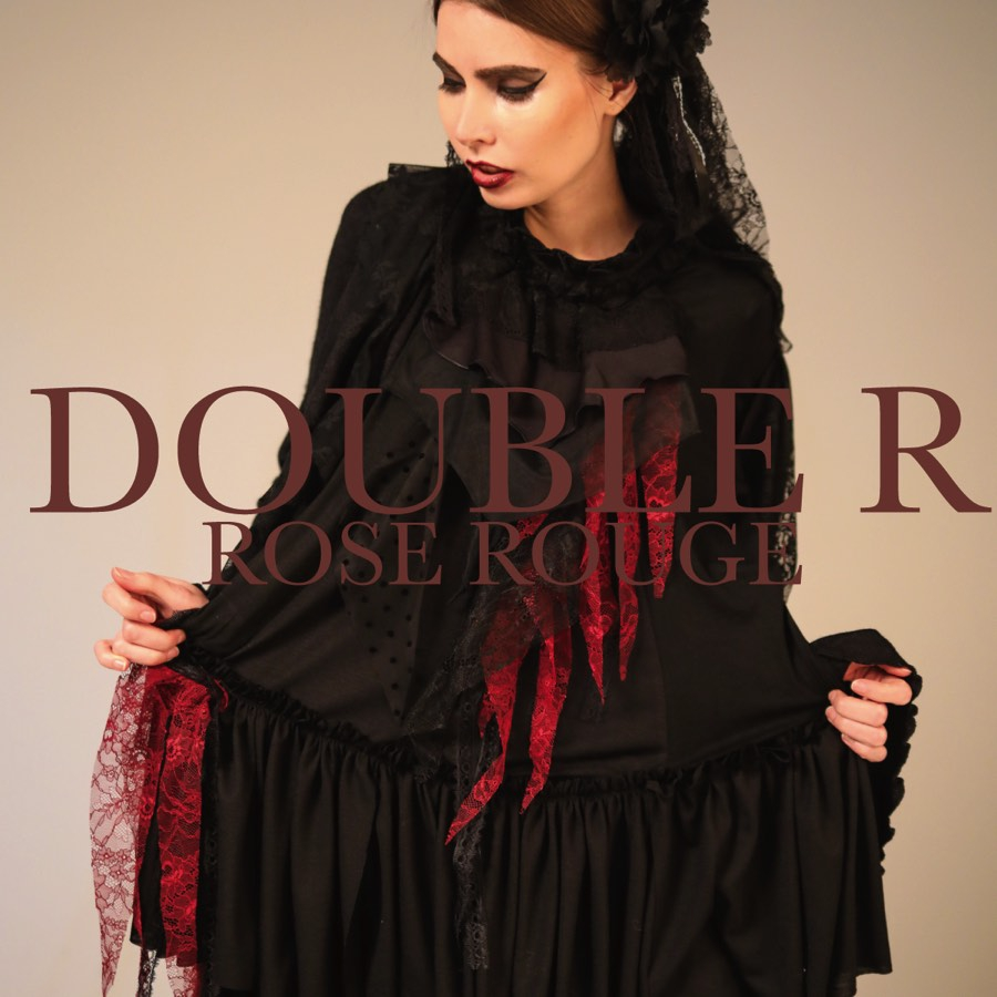 0130 DOUBLER ROSE ROUGE