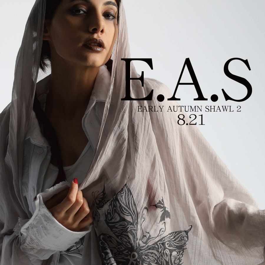 0821 E.A.S2【Early Autumn Shawl2】