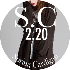 0220 S.C【Spring CARDIGANS Collection】