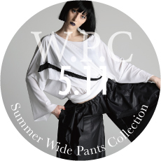 0511 W.P.C Summer Wide pants Collection