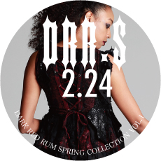 0224DRR.S【DARK RED RUM Spring Collection】