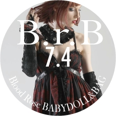 0704 B.r.B Blood Rose BABYDOLL&BAG