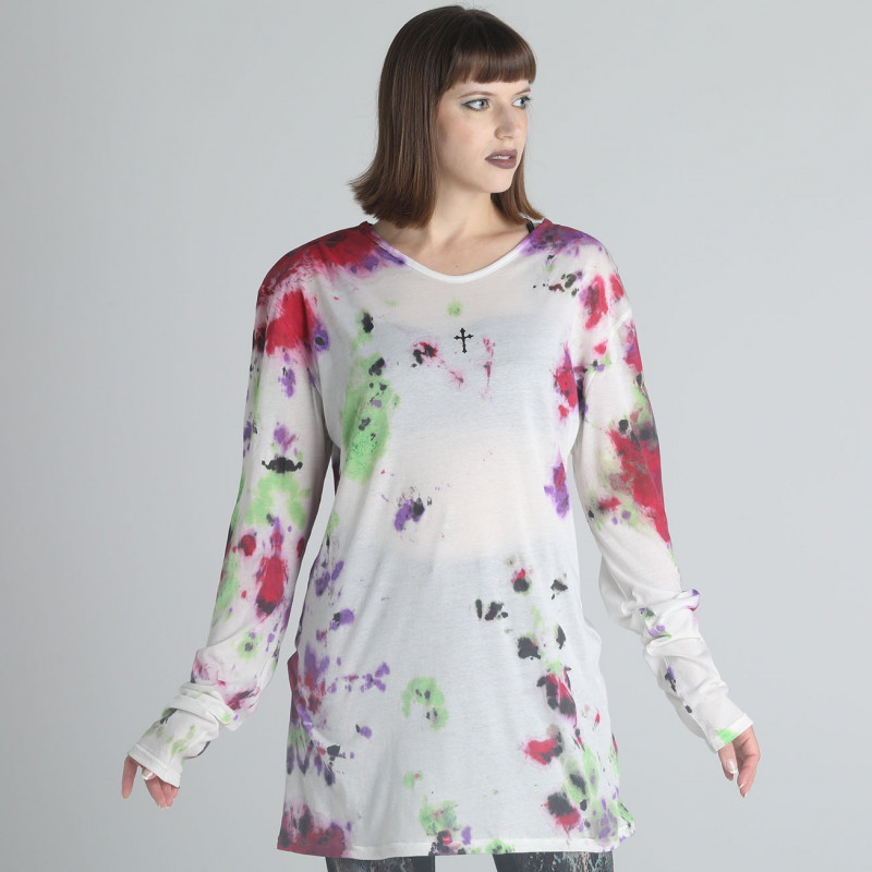 Action Paint Long sleeves T-SH