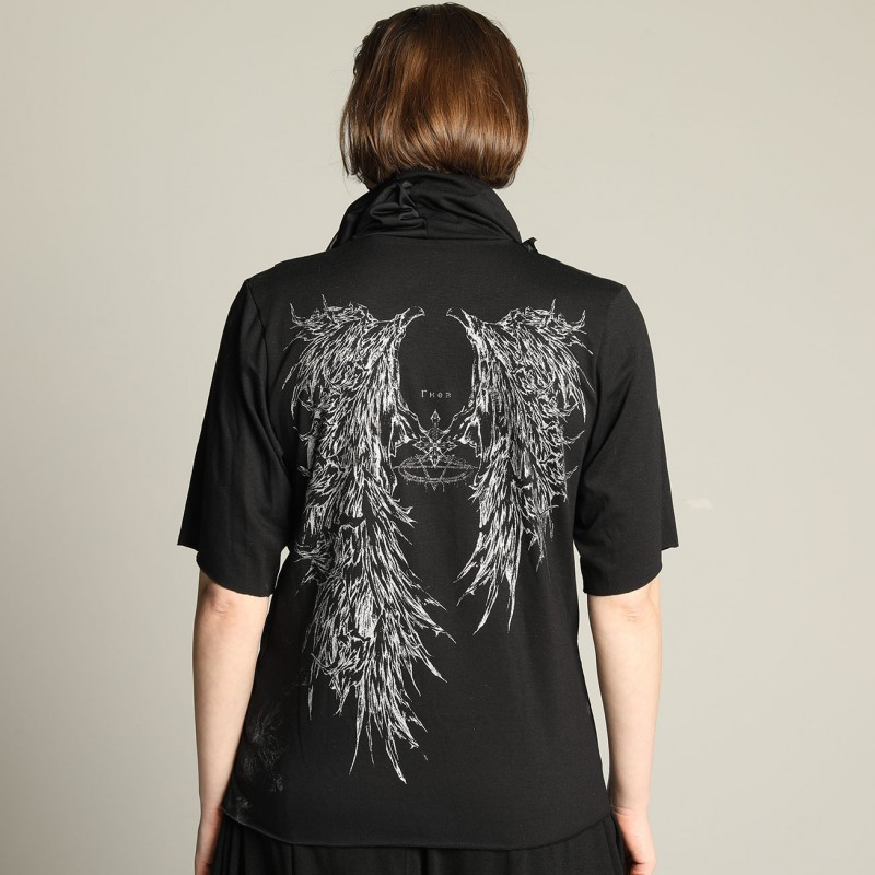 Devil's wing Drape TOPS