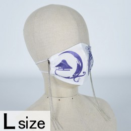 Mountain and Lily Crest Mask Wear / L