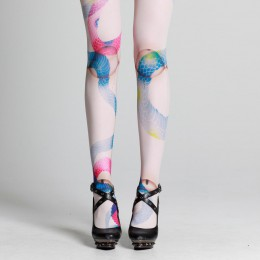 Tattoo Snake Tights