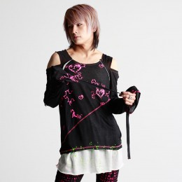 h.h Punk Gauze Top