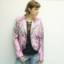 Art paint Tailored jacket