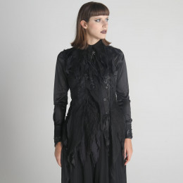 Dragon Leather Decadence Blouse