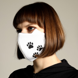 Cat ears footprint MASK WEAR / M