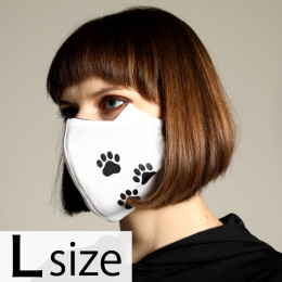 Cat ears footprint MASK WEAR / L