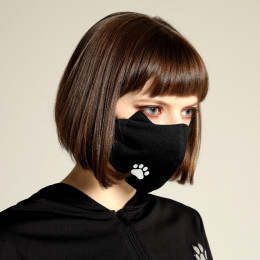 Cat ears ONE footprint MASK WEAR / M
