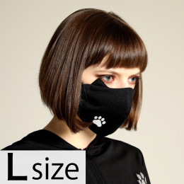 Cat ears ONE footprint MASK WEAR / L