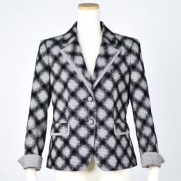 Monotone Check Jacket