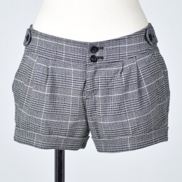 Glen check short Pants