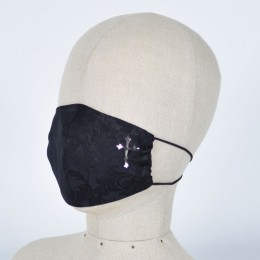 Gothic Pattern Cross Mask Wear / L