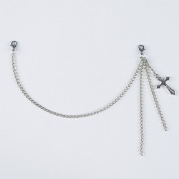 Cross Charm Long chain MACCESSORY