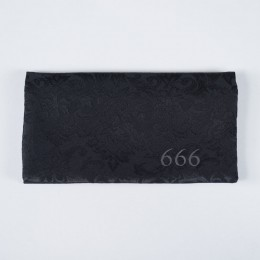 "Gothic Pattern ""666"" MASK WALLET"