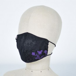 Butterfly and Rose Mask Wear / M