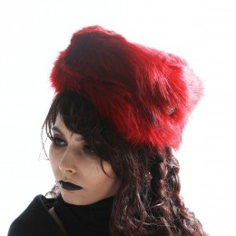 Red Fur Hat