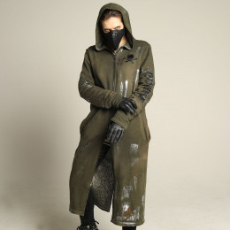 Military Metal  Long hoody
