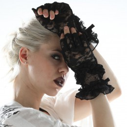 Morpho lace glove