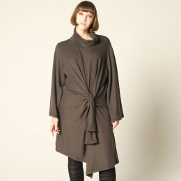 High Neck Witch Robe Dress
